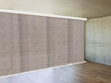 Panel japonés visillo ANUBIS niquel