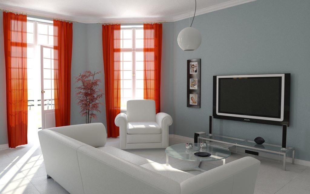 Conocer los tipos de cortinas m s comunes para salas de - Estor con cortina ...