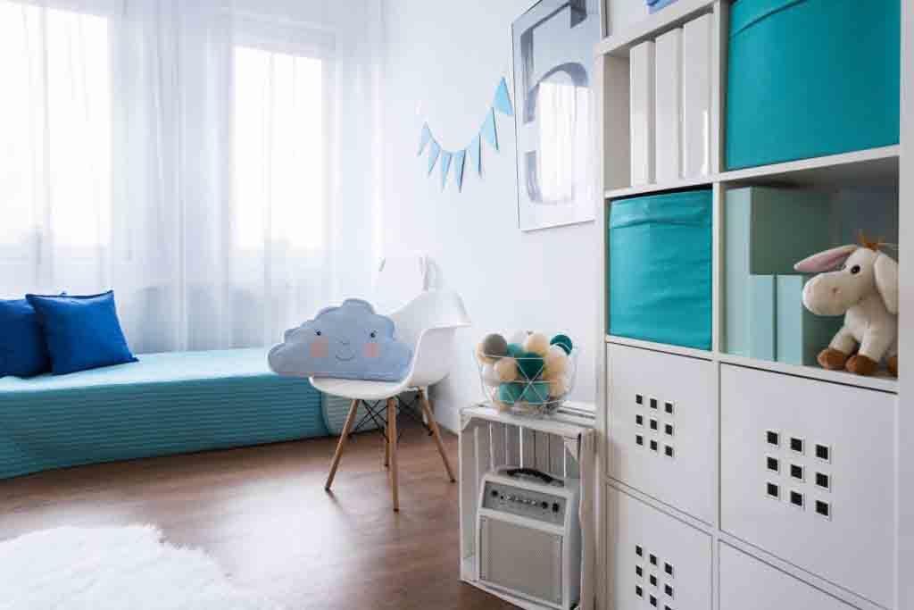 Tipos de cortinas más comunes para habitaciones juveniles