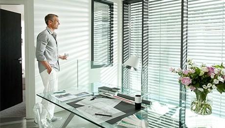 venecianas de aluminio para despacho