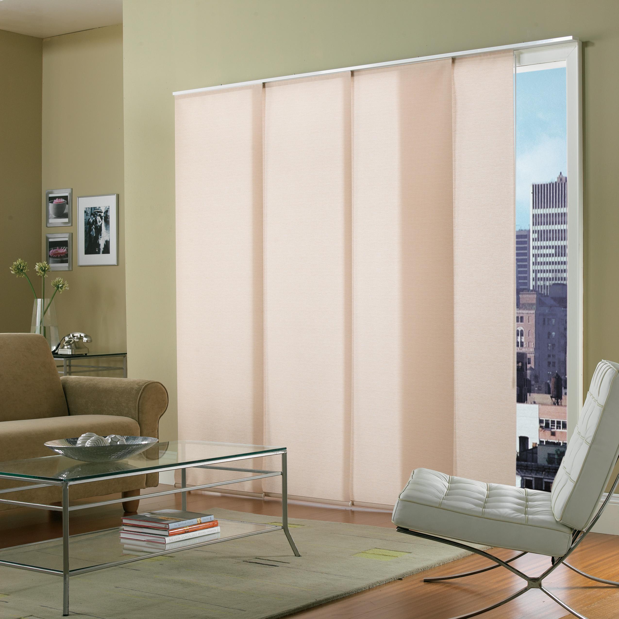 cortinas en paneles para puertas corredizas de terraza