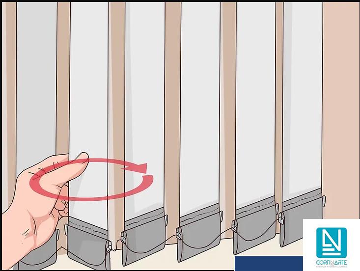 Cómo Reparar Cortinas De Lamas Verticales
