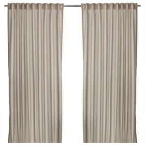 cortinas greige de moda.