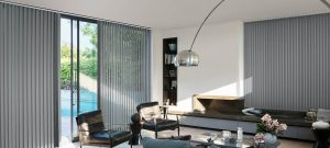 cortinas de lamas verticales para ventanas corredizas