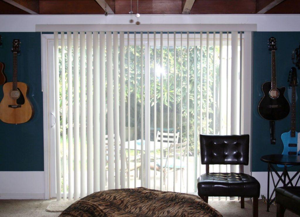 Tipos de cortinas para puertas correderas