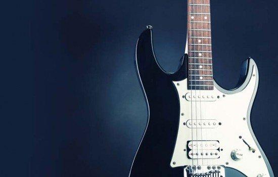 Guitarra electrónica para serigrafiar estor enrollable juvenil