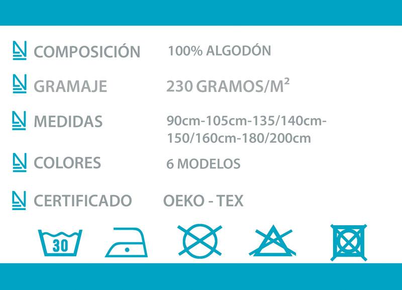 Edredón 230g