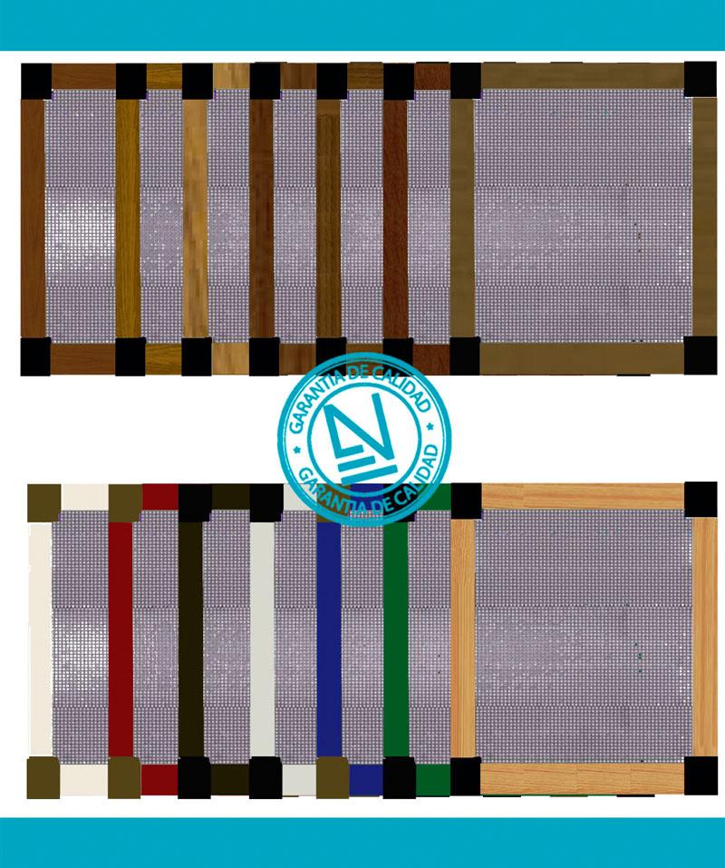 Mosquitera Fija amplia gama de colores