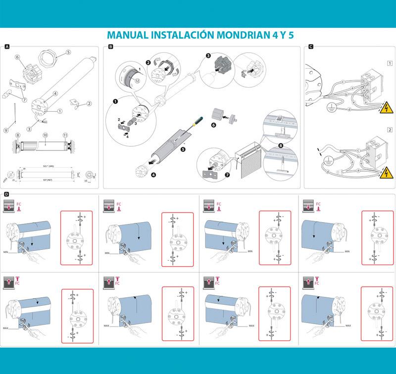 Manual instalación Mondrian 4 y 5