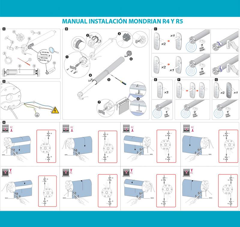 Manual instalación Mondrian R4 y R5
