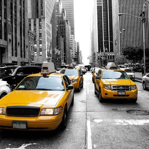 New York Taxis FOTO